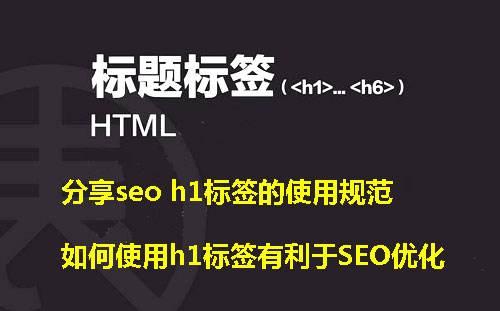 H1标签是什么?有什么作用?H1标签定义到logo好吗?