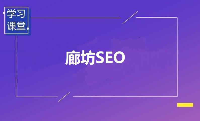 廊坊SEO外包服务廊坊青年网络公司